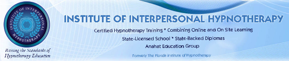 Banner for institute of interpersonal hypnotherapy
