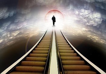 Past life regression stairway