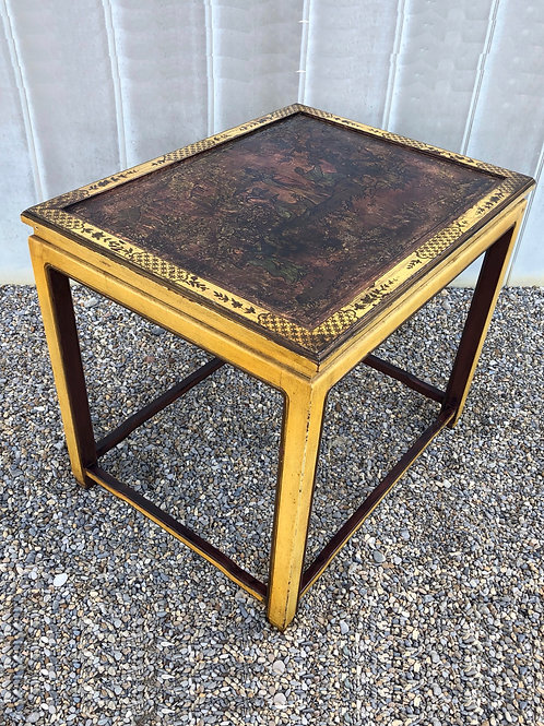 SOLD: Vintage Chinoiserie Accent Table