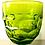 Thumbnail: SOLD: Mid-Century Viking Georgian Bright Green Goblets - Set of Six Plus Bonus