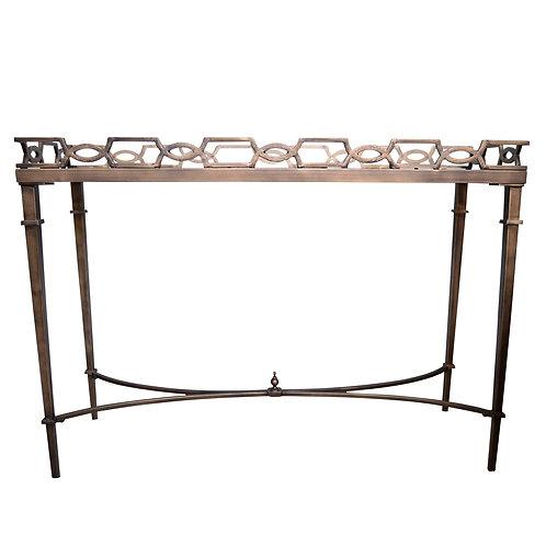 "SOLD: Thomas Pheasant for Baker Furniture ""Bracelet"" Console"