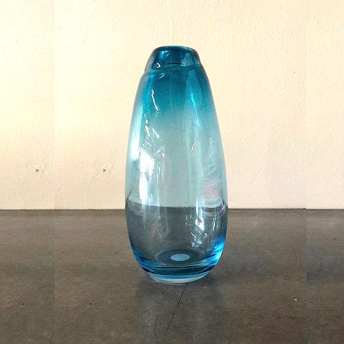 SOLD: Mid-Century Scandinavian Bud Vase - Turquoise