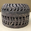 Thumbnail: SOLD: Hand-Carved Pierced Domed Lid Soapstone Box