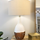 Thumbnail: SOLD: Mid-Century Mod Reactive Glaze Lamps - Pair