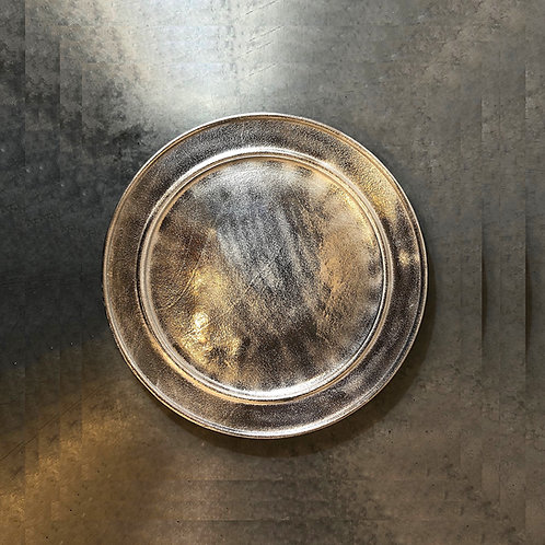 Hotel Silver Round Platter/Tray