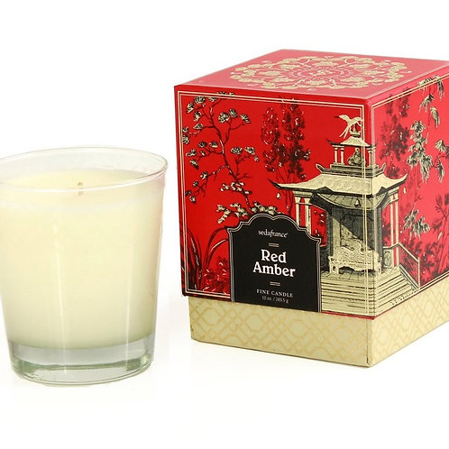 Seda France - Red Amber Large Candle