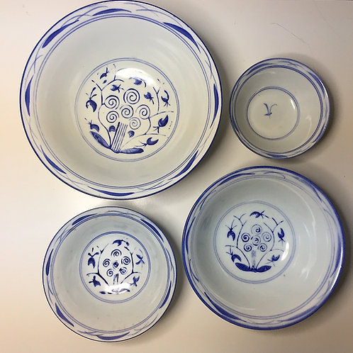 SOLD: Chinese Stacking Bowls - Set of Four