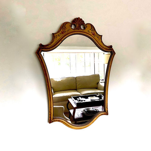 1920s Venetian Painted Mirror