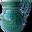 Thumbnail: Late 20th Century Bordallo Pinheiro Green Grapevine Pitcher