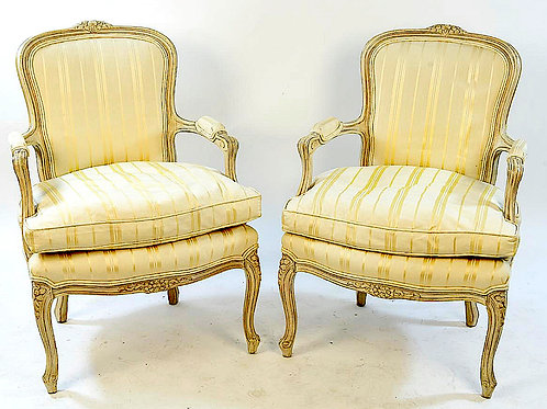 SOLD! Louis XVI Bergeres - Pair