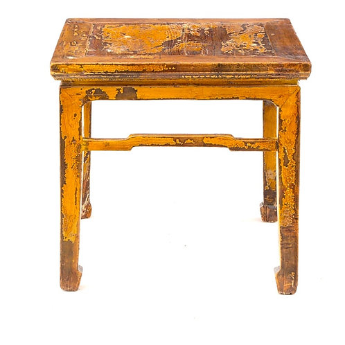 SOLD: Chinese Ming Table - Imperial Yellow