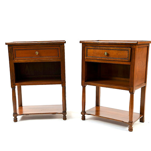 SOLD! Grange France - PAIR - End Tables/Nightstands