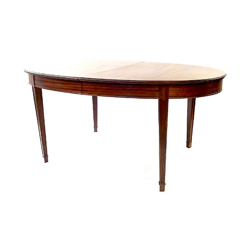 SOLD: Frits Henningsen (Attributed) Mahogany Oval Dining Table