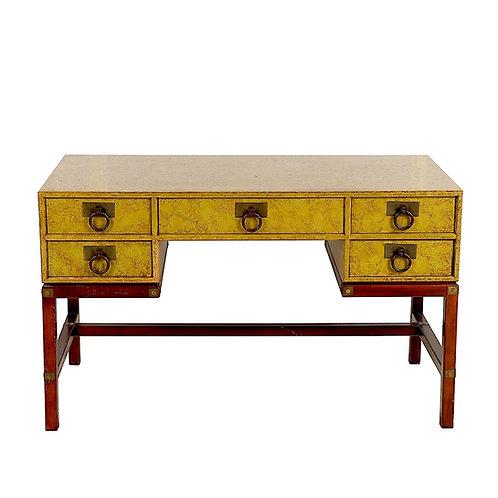 SOLD: Mid-Century Henredon Campaign Desk