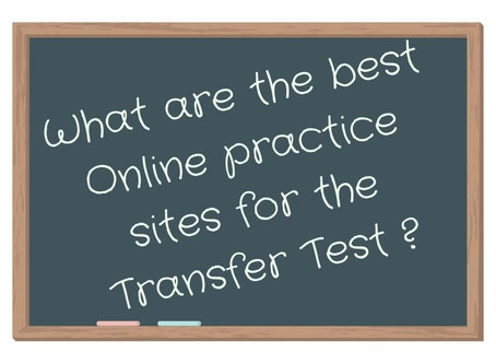 What is the best Online practice site or App for the Transfer Test?