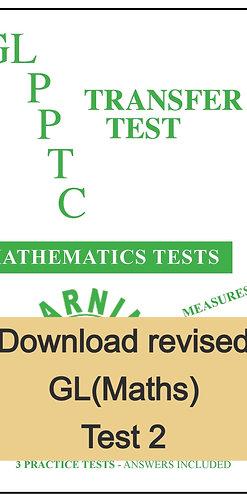GL Maths Transfer Test 2