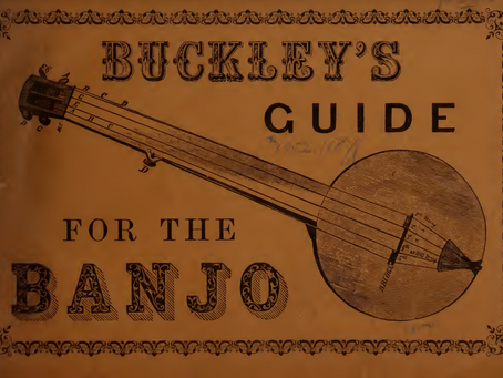 Viva La America! Banjo music from the 1860s!