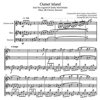 The Legend Of Zelda: Wind Waker - Outset Island (Oboe, Bb Clarinet, Bassoon)