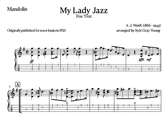 A.J. Weidt - My Lady Jazz (mandolin solo)
