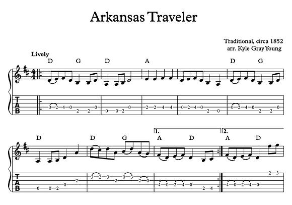 Arkansas Traveler (Flatpicking guitar)