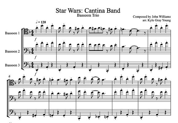 Star Wars - Cantina Band (Bassoon quartet)