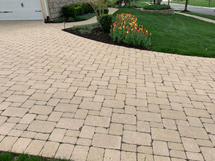 Heated driveway in Overland Park, KS.