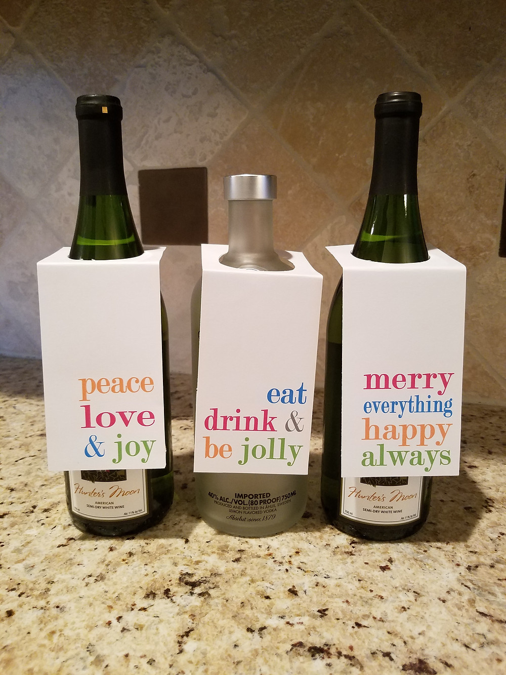 Free printable Bottle Tags
