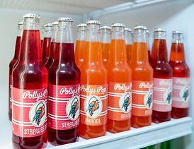 Polly Pop soda at Nellie's Sweet Shoppe