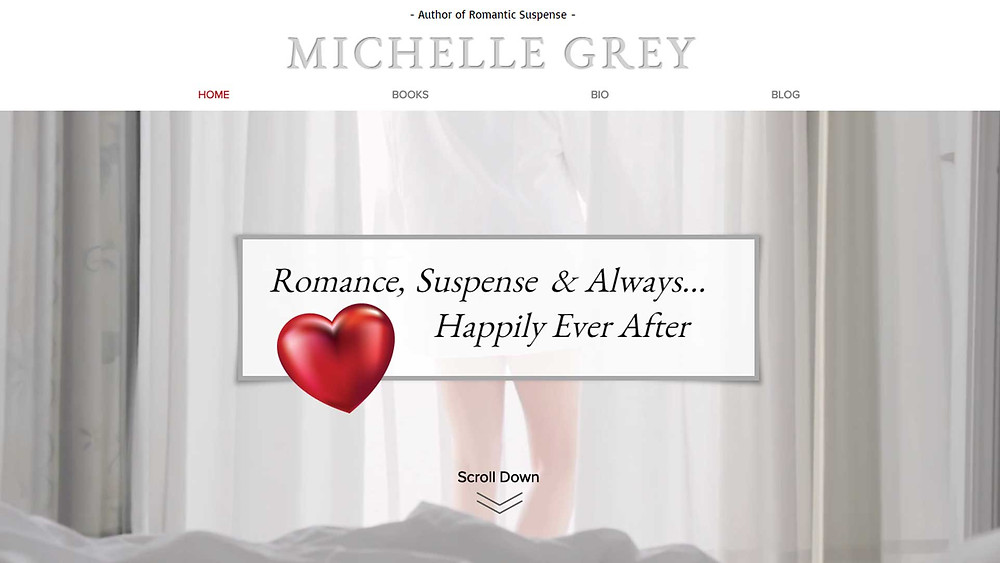 New website for author Michelle Grey