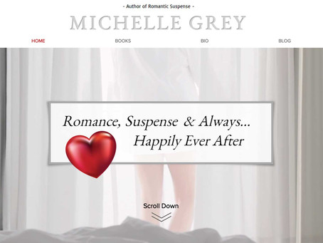 Michelle Grey Author Website Reveal