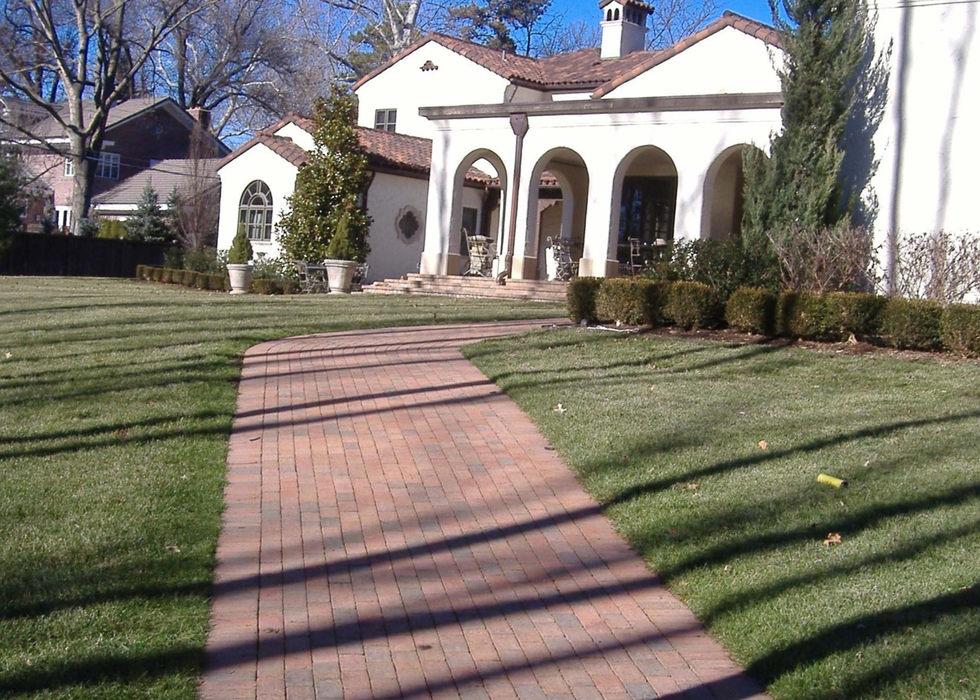 Holland Stone paver walkway.