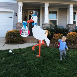 Celebration Stork