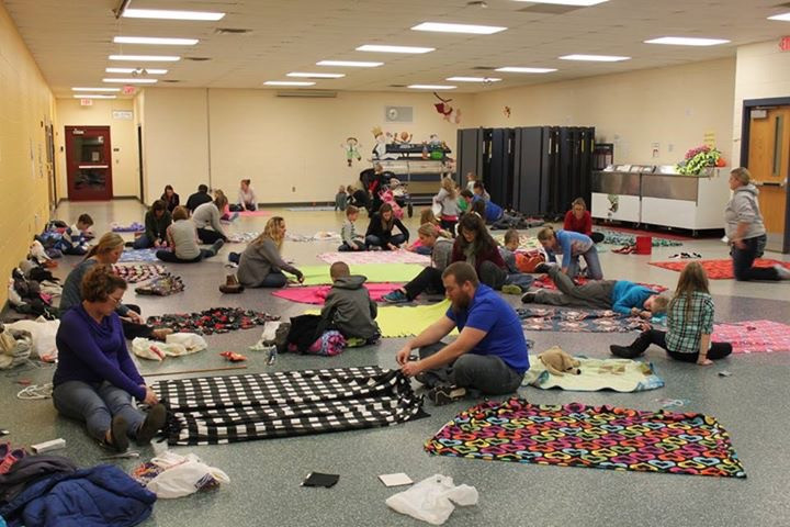 First blanket event that sparked the idea for KindCraft