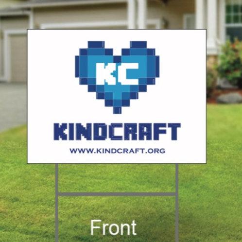 KindCraft Yard Sign