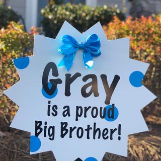 Blue Sibling Starburst