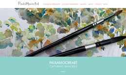 PaulaMooreArt Winebrenner Designs created the original website i...