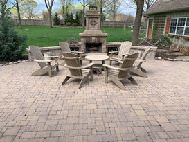 Brighton fireplace in Overland Park, KS.