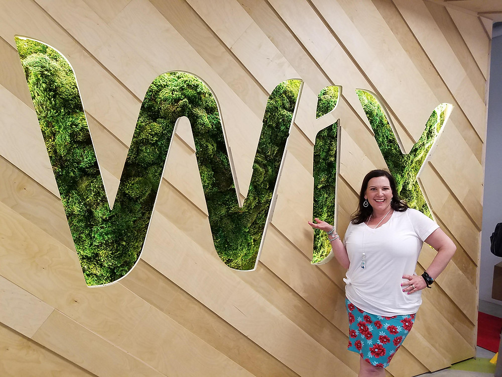 Melissa Winebrenner at Wix headquarters in Miami