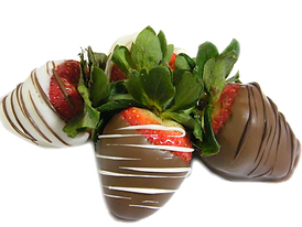 chocolate dipped strawberries at nss