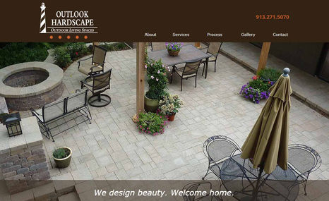 Outlook Hardscape Winebrenner Designs LLC wrote SEO keyword rich cop...