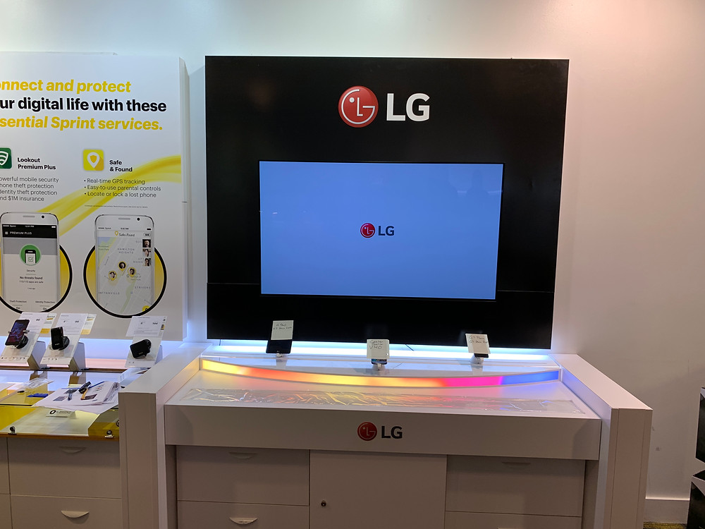 LG monitor national technology rollout project