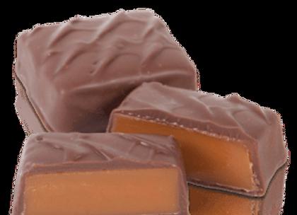 Milk Chocolate Caramel Squares