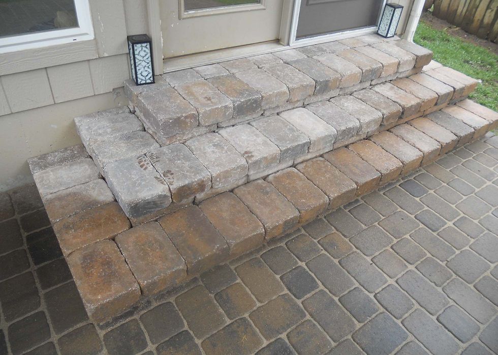 Porch step ideas.