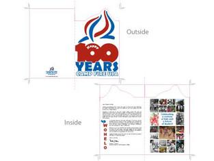 Graphic Design | Centennial Birthday Card