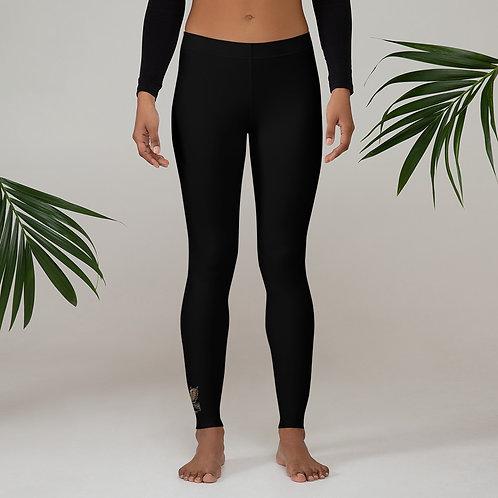 Phoenix Black Leggings