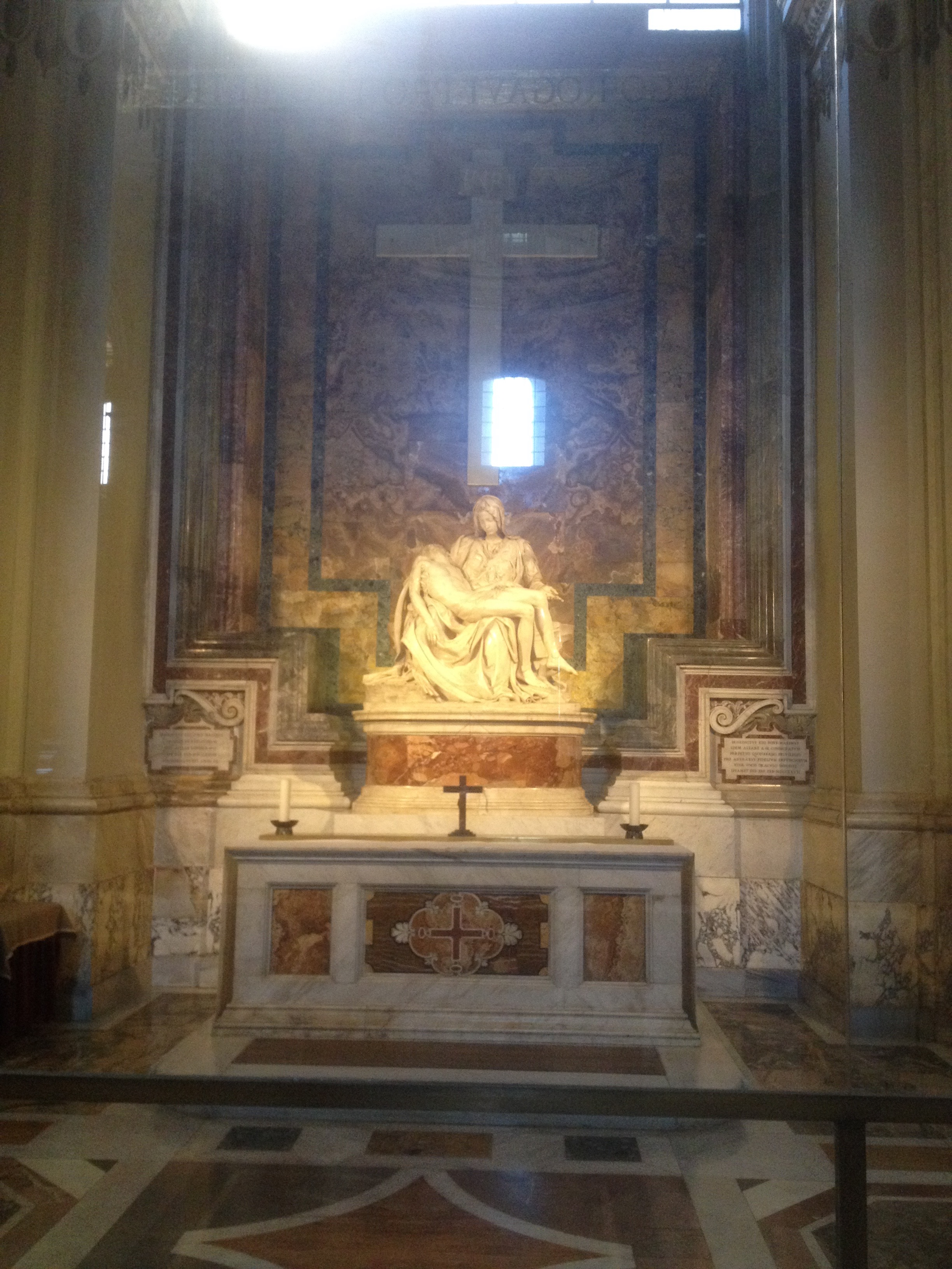 La Pieta by Michelangelo