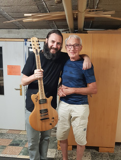 my first JoeStoneGuitar by Peter Thome!
