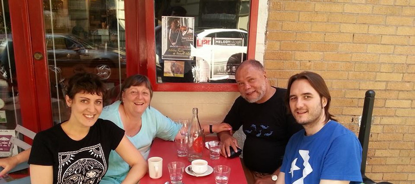 with Carolin Pook & Keith Copeland & Ute Fischer