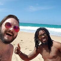 Hertenstein_Pridgen beach hang PuertoRic