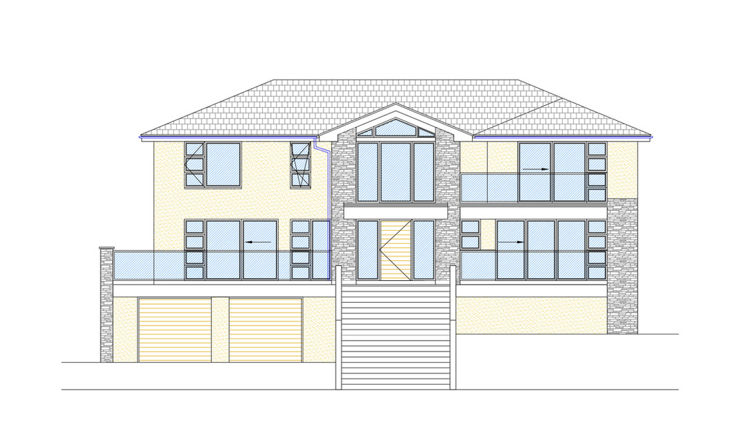 New Build Front Elevation